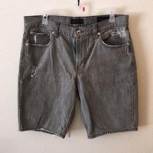 ❗️SOLD OUT❗️Men's Black Denim Shorts